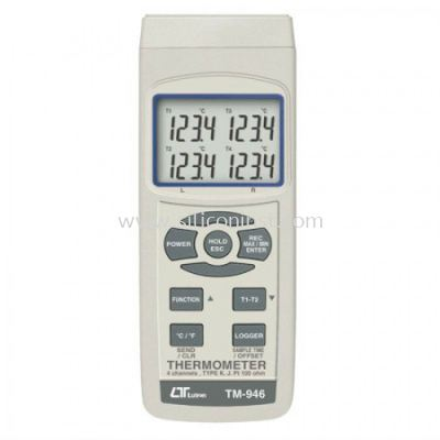 Lutron 4 Channels Thermometer - TM-946