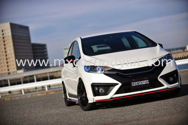 HONDA JAZZ 2014 NOBLESSE BODY KIT + SPOILER  JAZZ 2014 HONDA