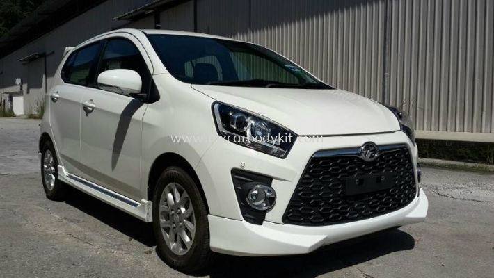 PERODUA AXIA ADVANCE SE BODY KIT + SPOILER