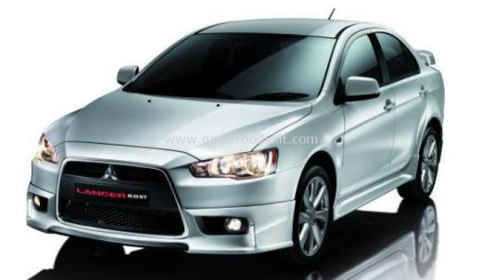 MITSUBISHI LANCER 2012 OEM / GT UPGRADE BODY KIT + SPOILER