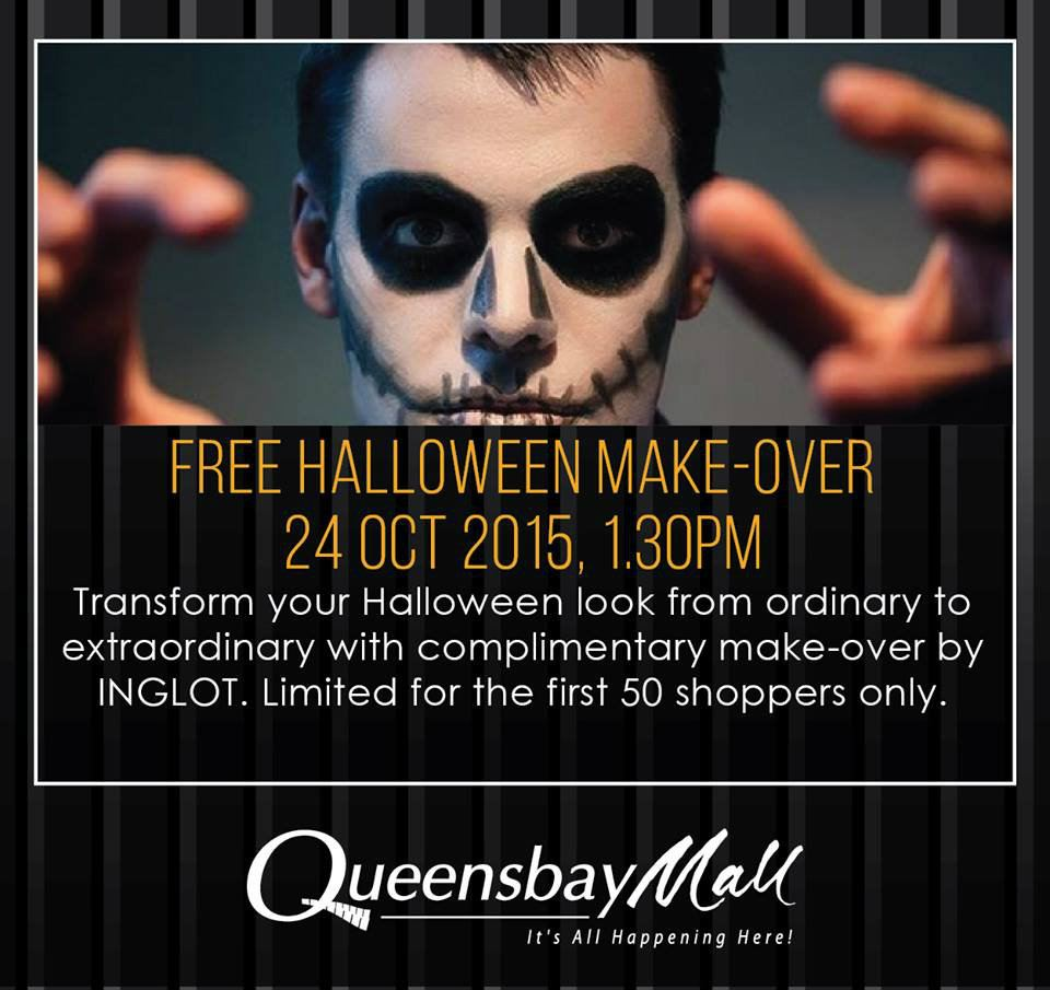Free Halloween Make-Over, GF North Zone October 2015 Year 2015 Past Listing