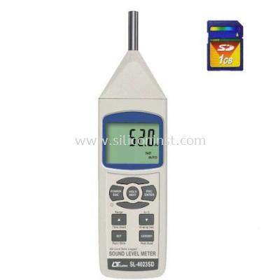 Lutron Sound Level Meter - SL-4023SD