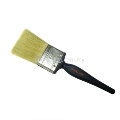 "Besi & Logam #SB020 2"" (50.0MM) Paint Brush (20% Synthetic Filament) Plastic Handle"