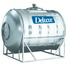 Horizontal With Stand Deluxe Stainless Steel Water Tank
