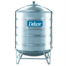Vertical Withstand / Round Bottom Deluxe Stainless Steel Water Tank
