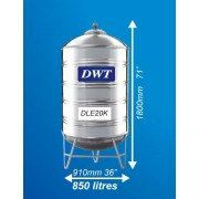 DLE20K Stainless Steel Water Tank (With Stand Round Bottom) DWT Stainless Steel Water Tank