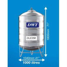 DLE25K Stainless Steel Water Tank (With Stand Round Bottom) DWT Stainless Steel Water Tank