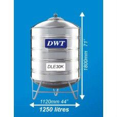 DLE30K Stainless Steel Water Tank (With Stand Round Bottom) DWT Stainless Steel Water Tank