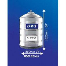 DLE20F Stainless Steel Water Tank (Without Stand Flat Bottom)