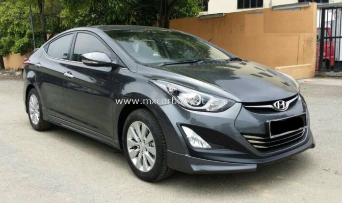 HYUNDAI ELANTRA 2015 RSR II DESIGN BODY KIT + SPOILER