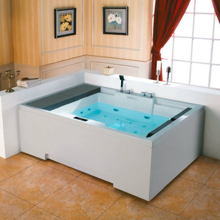 OR-M1101A Two-Seater Whirlpool Bath Orin Jacuzzi