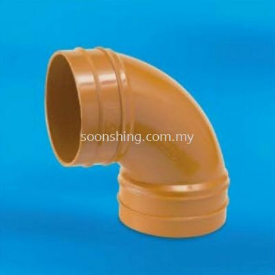 "UPVC Underground Fittings Sweep Bend 6"" (160MM)"