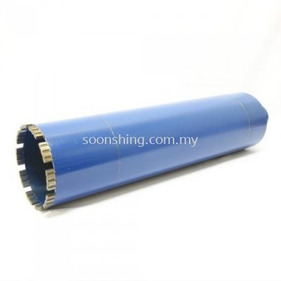 Coolman Diamond Core Bits 160MM (DIA) x 400MM (H) (Coupling + Tube + Bit)