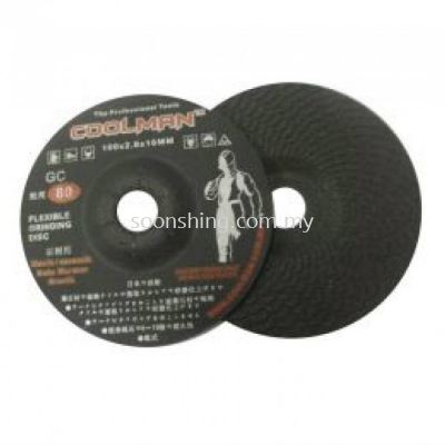 "Coolman GC80 Flexible Grinding Disc 4"" (105MM)"