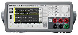 B2912A Precision Source/Measure Unit, 2 ch, 10 fA, 210 V, 3 A DC/10.5 A Pulse  Source Measure Units   Keysight Technologies