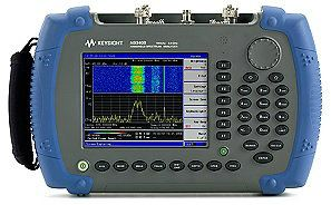 N9340B Handheld RF Spectrum Analyzer (HSA), 3 GH  Handheld Digital Multimeter, Oscilloscope, Clamp Meter, LCR   Keysight Technologies