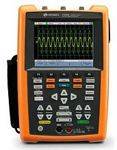 U1620A Handheld Oscilloscope, 200MHz  Handheld Digital Multimeter, Oscilloscope, Clamp Meter, LCR   Keysight Technologies