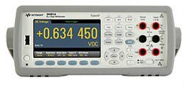 34461A Digital Multimeter, 6 Digit, 34401A Replacement, Truevolt DMM Digital Multimeter  Keysight Technologies
