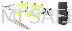 Paraguard Excel Stretcher w/valise & Lifting Sling Medical Equipment