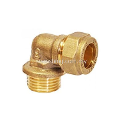 Copper Fittings Elbow CxM.I. 22mm x 3/4""