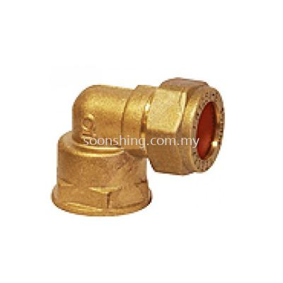 Copper Fittings Elbow CxF.I. 22mm x 3/4""