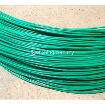 PVC Chainage Link Wire #10 x 40KG (COIL)