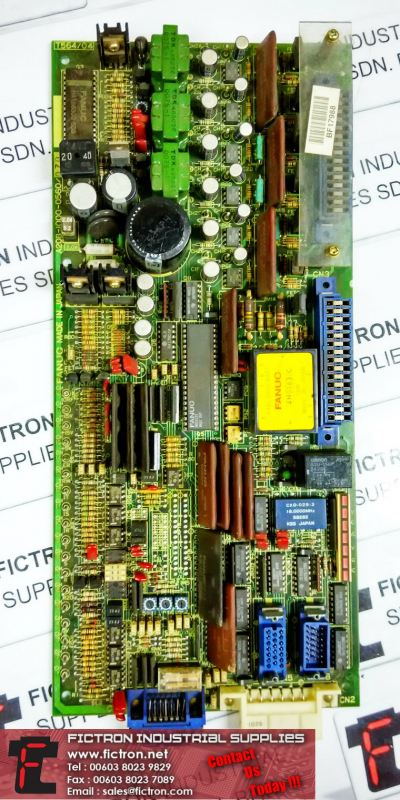 A20B-1000-0560 07D FANUC Servo Board Supply & Repair Malaysia Singapore Thailand Indonesia Philippines Vietnam Europe
