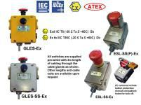 EXPLOSION PROOF SAFETY E-Stop Switches Idem Safety