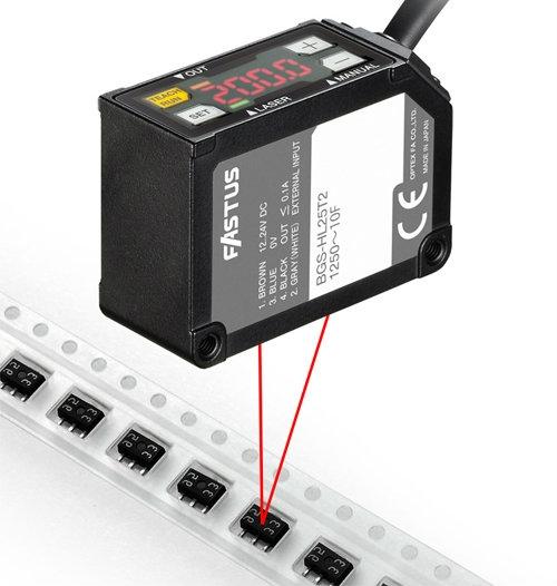 BGS-HL High Resolution Laser Sensor Laser Sensors Optex-Fa