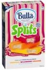 Bulla Splits Wildberry Orange Tropical 10 Pack Bulla Premium Ice Cream