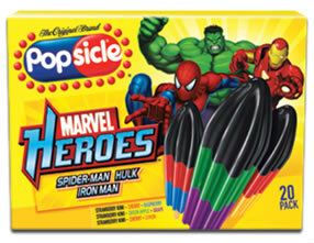 Popsicle Super Heroes Popsicle Premium Ice Cream Kuala Lumpur (KL), Selangor, Malaysia Supplier, Supply, Supplies, Distributor | Five Star Gourmet Sdn Bhd