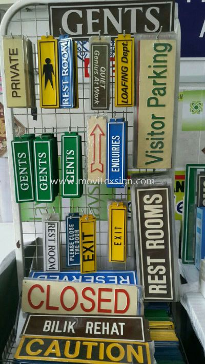 Door Sign / Safety Signage/imported ready made sign