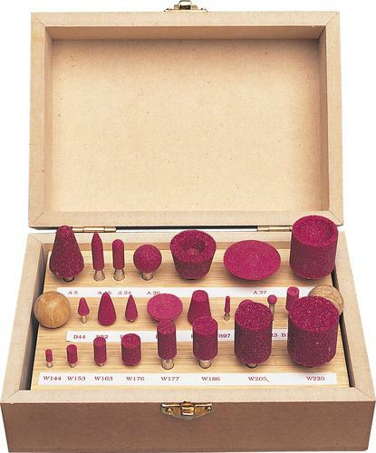 ASSORTED MOUNTED POINT SET OF 24 Cromwell Tools