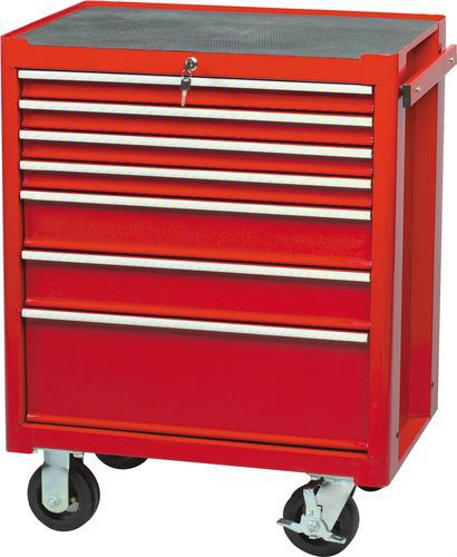 RED 7-DRAWER PROFESSIONAL ROLLER CABINET Cromwell Tools