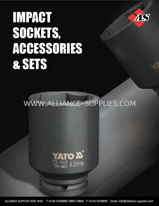 7.04 YATO Impact Sockets, Accessories & Sets 7.04 Impact Sockets, Accessories and Sets 07.YATO