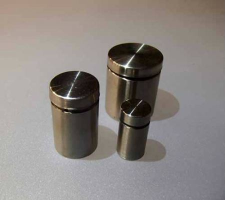 Chrome Mirror Screw