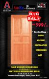 BIG SALE!! SOLID WOODEN DESIGN DOOR.. Only RM399..Please come to visit our showroom..