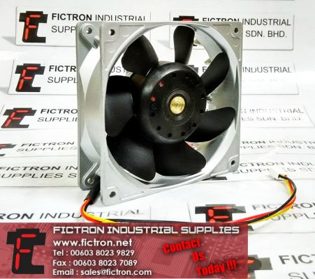 9WF1224H1D03 A90L-0001-0509 DC24V SanAce120L SANYO DENKI Cooling Fan Supply Malaysia Singapore Thailand Indonesia Philippines Vietnam Europe