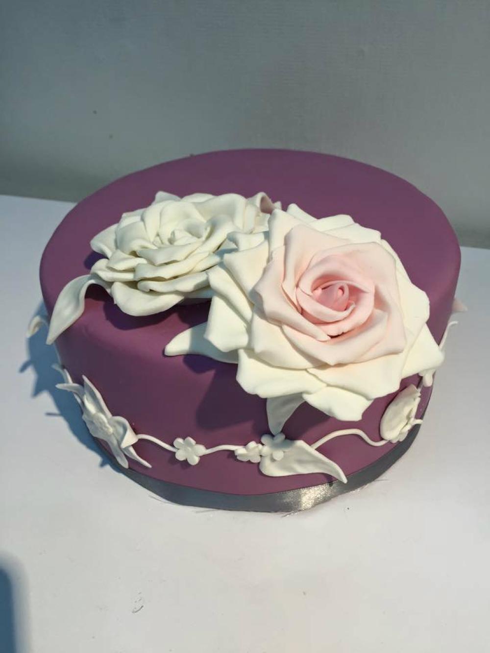 Flora 3d Fondant Decoration Birthdaywedding Cake Fl3 Flora Series