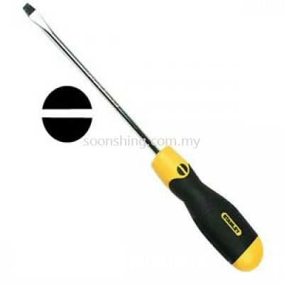 Stanley 65-193-2 Cushion Grip Screwdriver 6.5 x 150mm