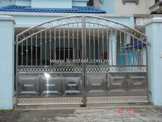 Stainless steel main gate33