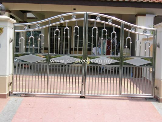 Stainless steel main gate37