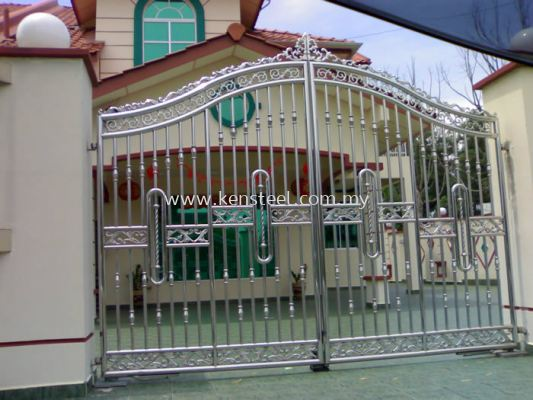 Stainless steel main gate38