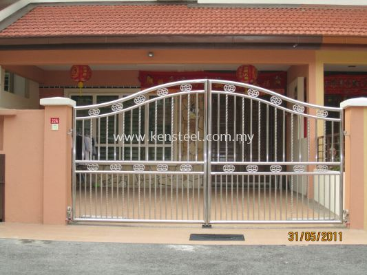Stainless steel main gate40