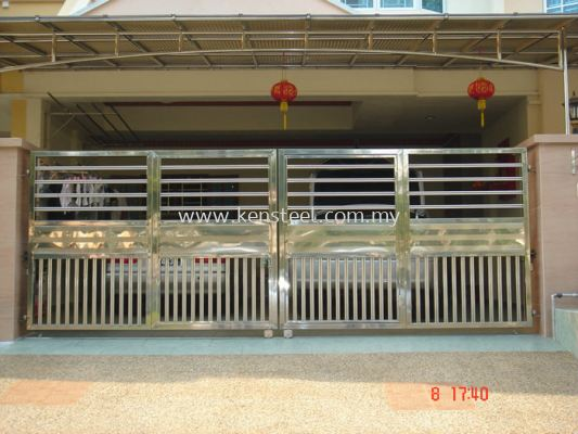 Stainless steel main gate54