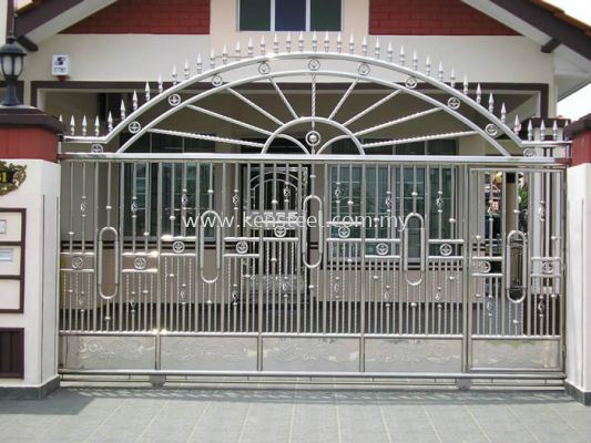 Stainless steel main gate56