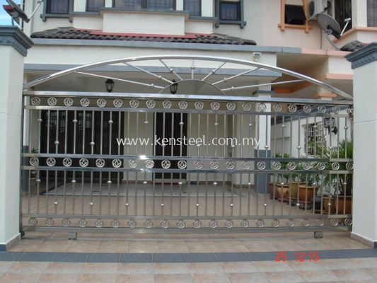 Stainless steel main gate61