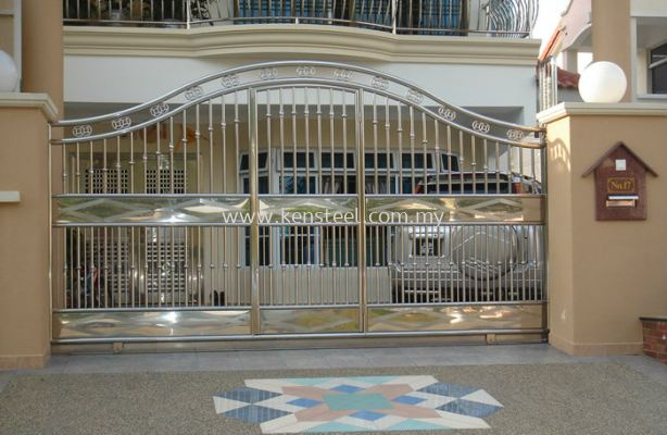 Stainless steel main gate65