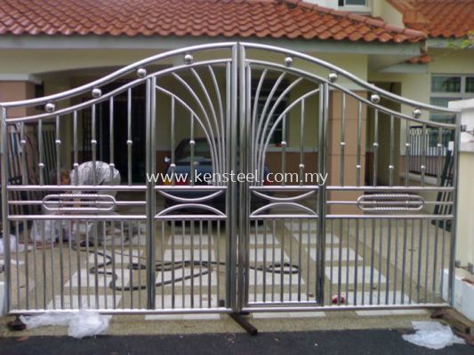 Stainless steel main gate71
