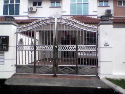 Stainless steel main gate73